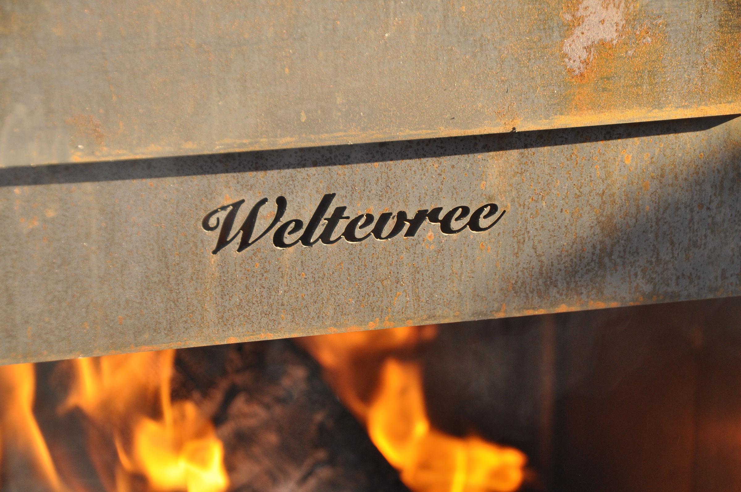 """""""Weltevree"""" Holzofen mit Pizzastein"""